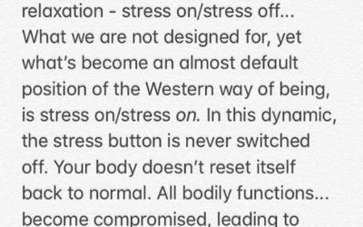 Stress Management  – Dr. Sarah Harbottle, ND