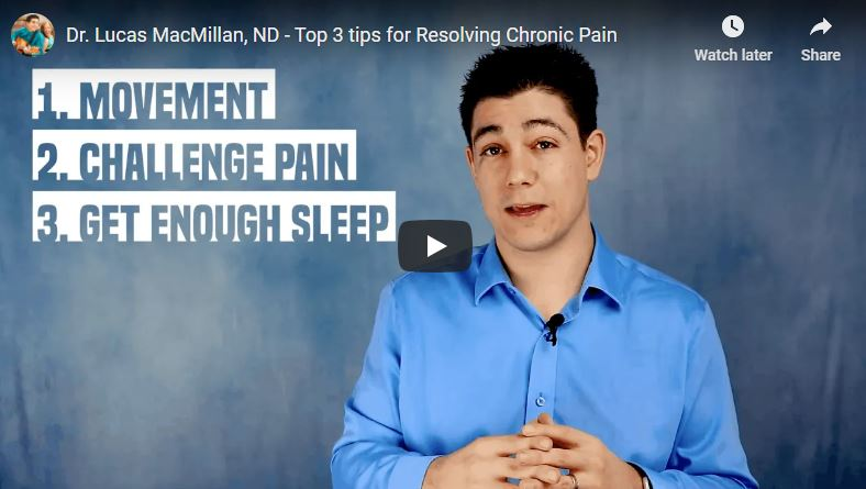 Tips for Chronic Pain by Dr. Lucas MacMillan
